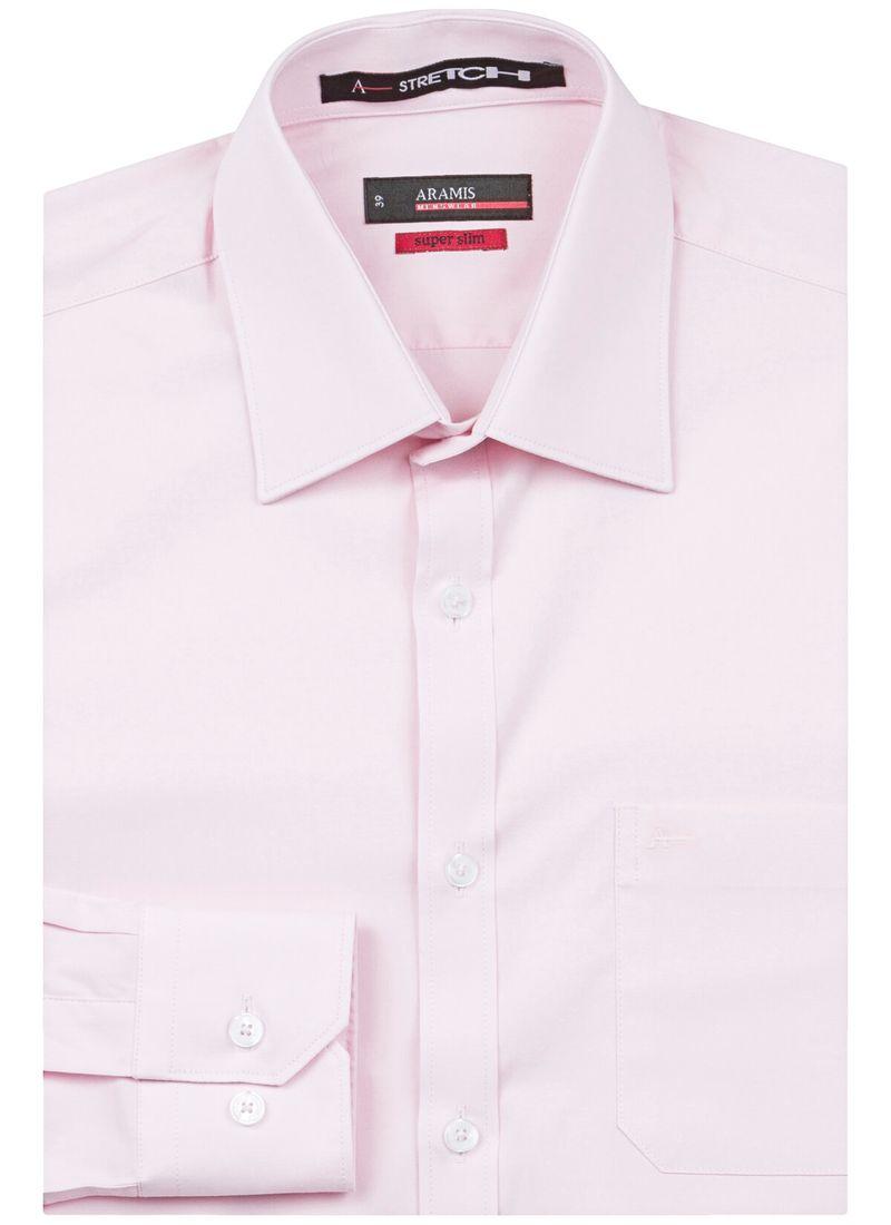 Camisa-Social-Super-Slim-Colarinho-Tradicional---Rosa