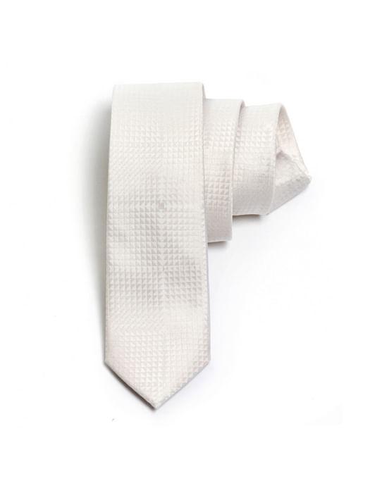 Gravata-Seda-Jacquard-75---Branco