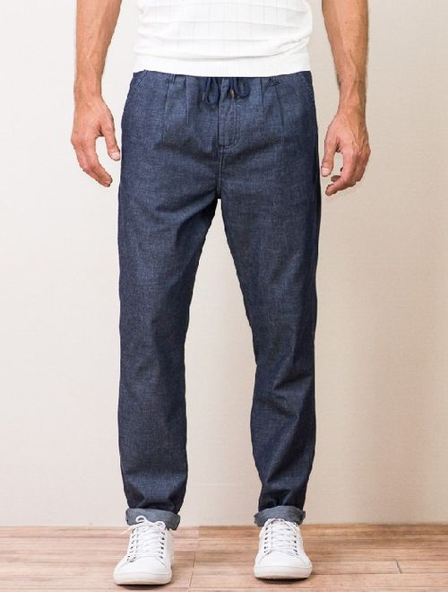 Calça Jeans Chino Amsterdã Azul