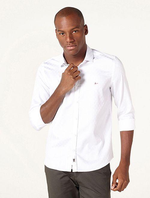 Camisa Night Super Slim Fio 60 Branco