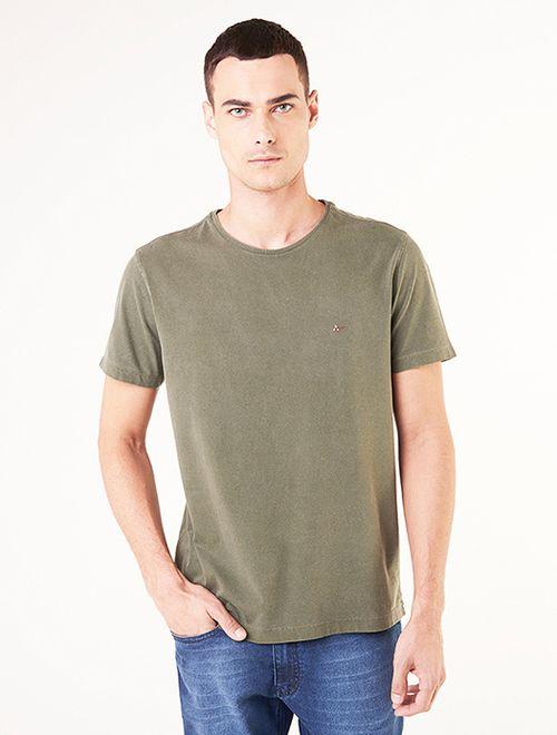 Camiseta Básica Stone Verde