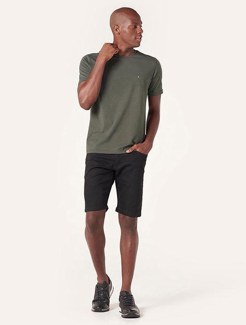 Camiseta Básica Stretch Verde