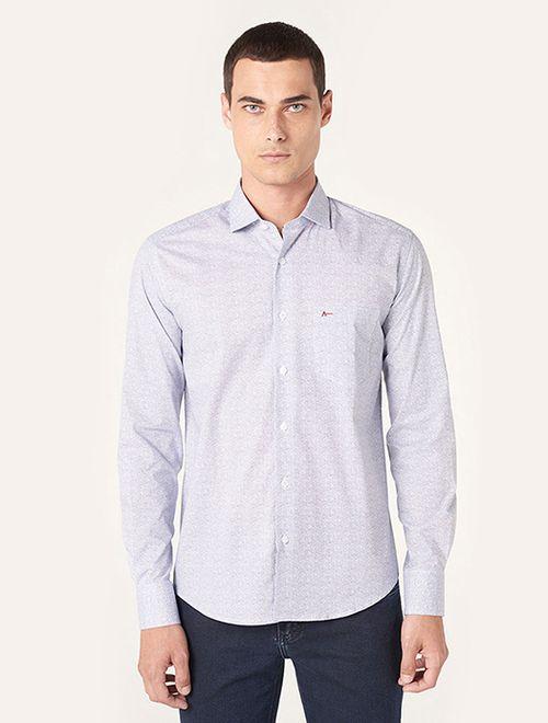 Camisa Menswear Craquelado Branco