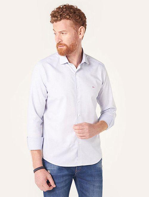 Camisa Menswear Slim Gola Trento Gravataria Branco