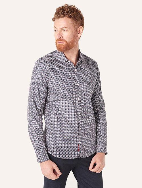 Camisa Super Slim Menswear Shapes Marinho