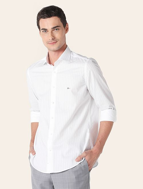 Camisa z Menswear Maquineta Listras Giza
