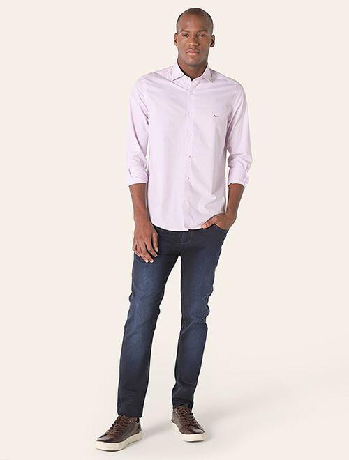 Camisa z Menswear Giza Cotton Dobby