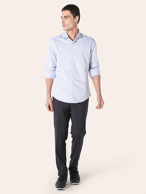 Camisa z Menswear Giza Azul