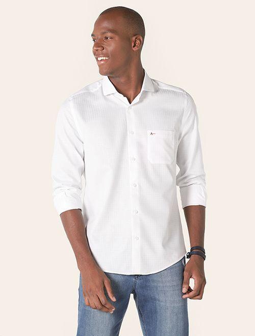 Camisa Menswear Maquineta Branco