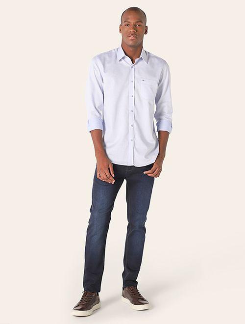 Camisa Social Colarinho Tradicional