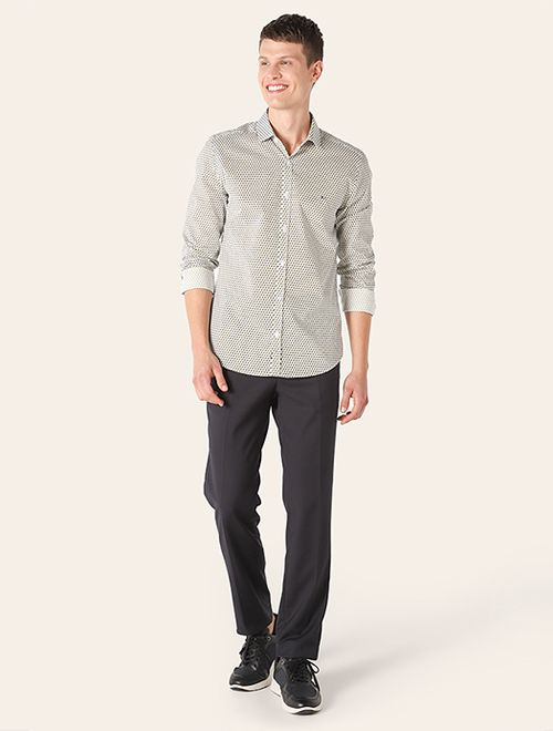 Camisa Menswear Super Slim Ladrilho