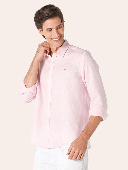 Camisa Jeanswear Slim Linho Plain