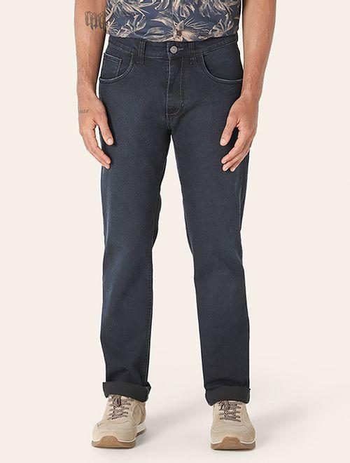 Calça Jeans Barcelona Contraste Azul