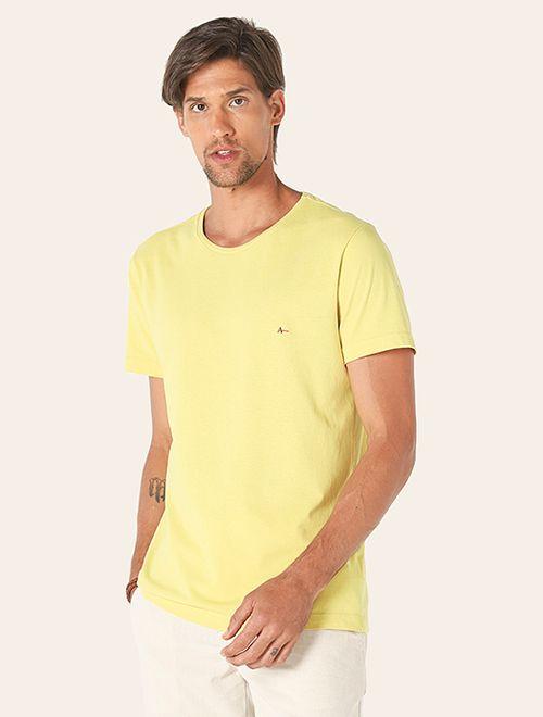Camiseta Folhagem Adão Amarelo