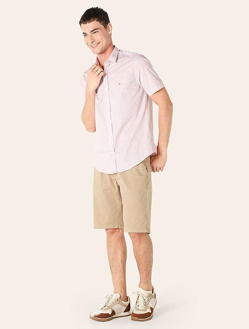 Camisa Menswear Slim Xadrez