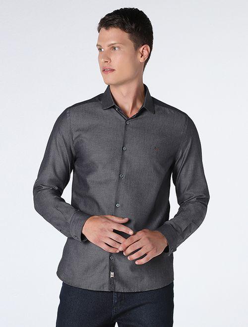 Camisa Night Super Slimmaquineta (Mo) Chumbo