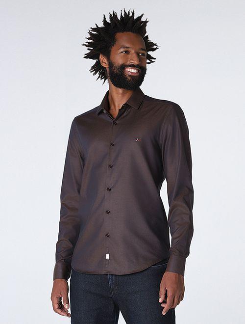 Camisa Night Super Slim Maquinetada
