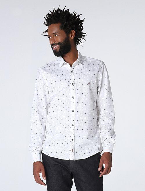 Camisa Night Super Slim Branco