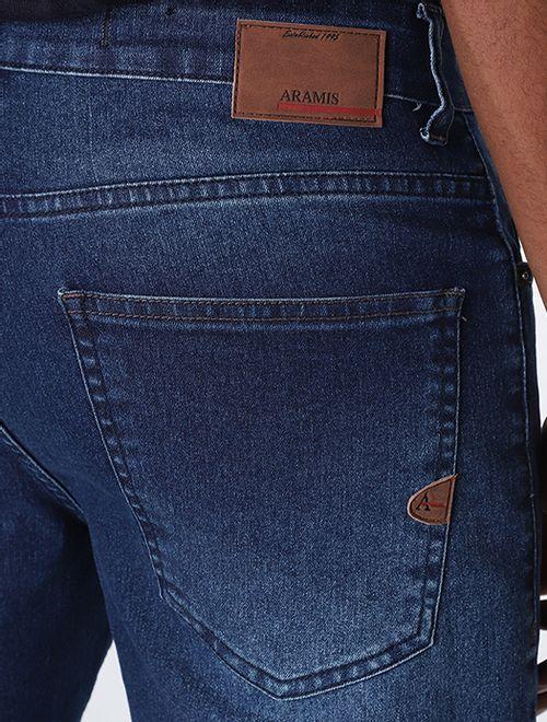 Bermuda Jeans Stone Mix De Linhas