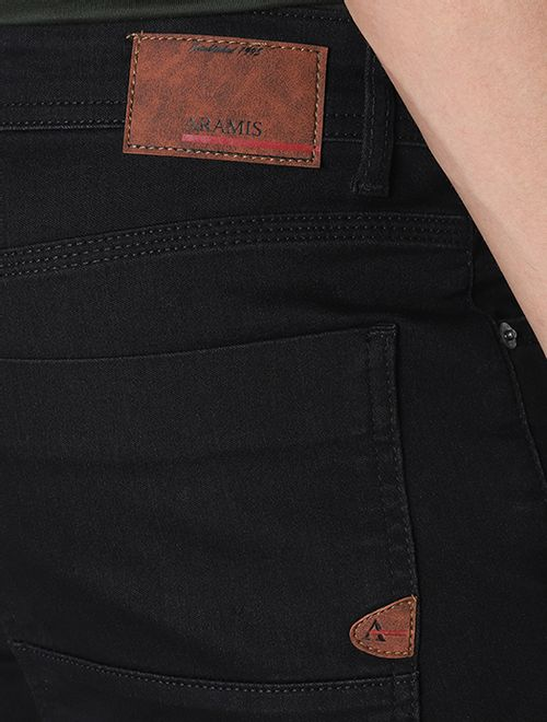 Calça Jeans 5 Pockets Slim Power Stretch Preto