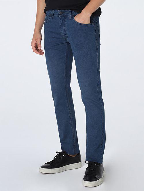 Calça Jeans Londres Tom Diferenciado (Pa Azul