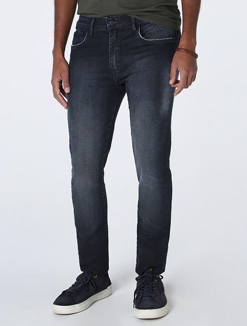 Calça Jeans Milao Moletom Blue Azul