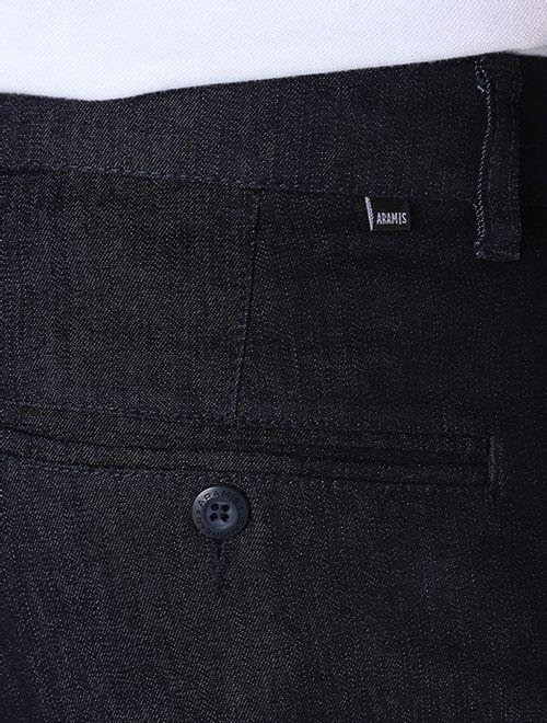 Calça Jeans Com Bolso Faca e Com Bolso Embutido Básica Azul