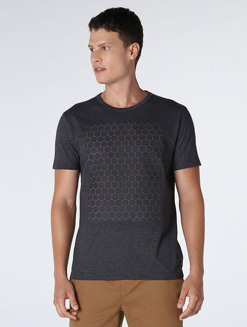 Camiseta  Colmeia Relevo Preto
