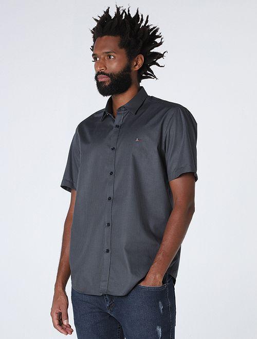 Camisa Slim Xadrez Verde