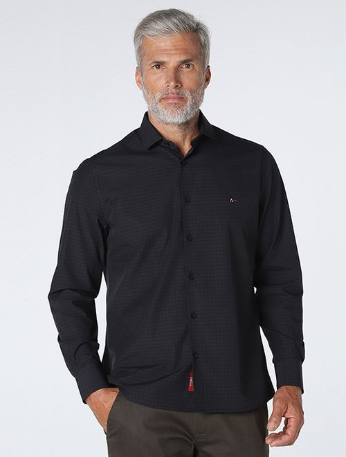 Camisa Xadrez Black