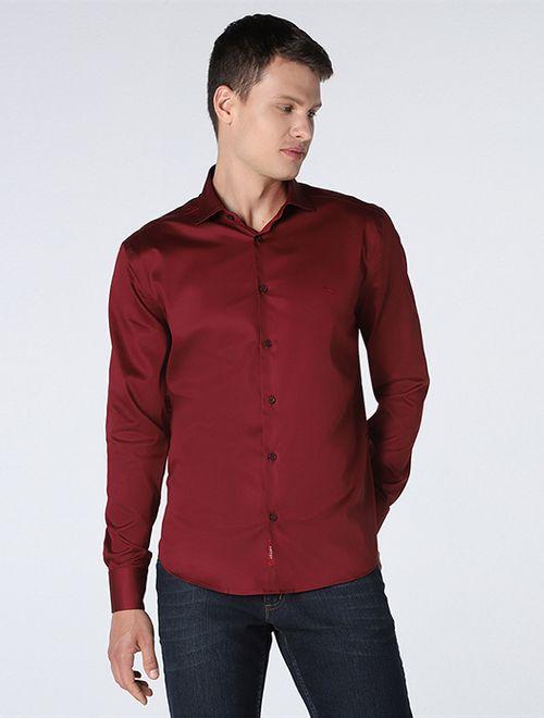 Camisa Slim Satin