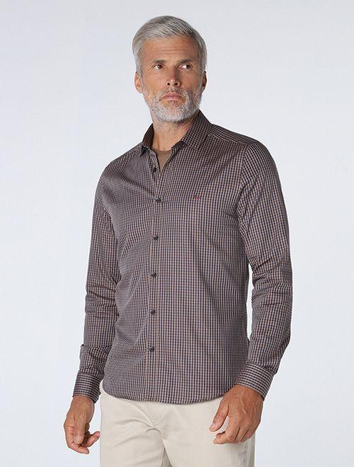 Camisa Super Slim Xadrez Mini