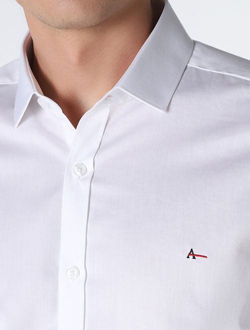 Camisa Manga Longa Liquid Repeller Super Slim Branco