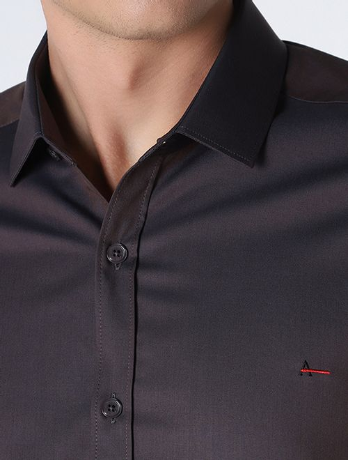 Camisa Manga Longa Liquid Repeller Super Slim Castor