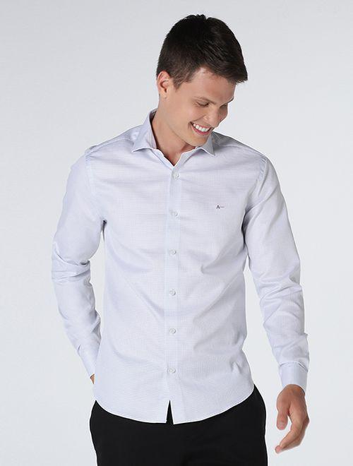 Camisa Social Super Slim Fio 90/2 Branco