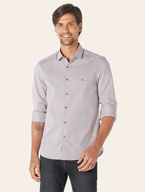 Camisa Menswear Super Slim Wire