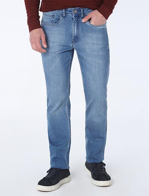 Calça Jeans Barcelona Delave Azul