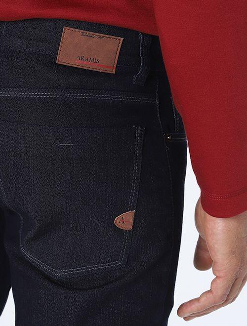 Calça Jeans Slim Degrade De Linhas Pa Azul