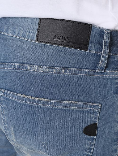 Calça Jeans Skinny Delave Azul
