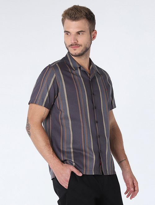 Camisa Resort Listrada Chumbo