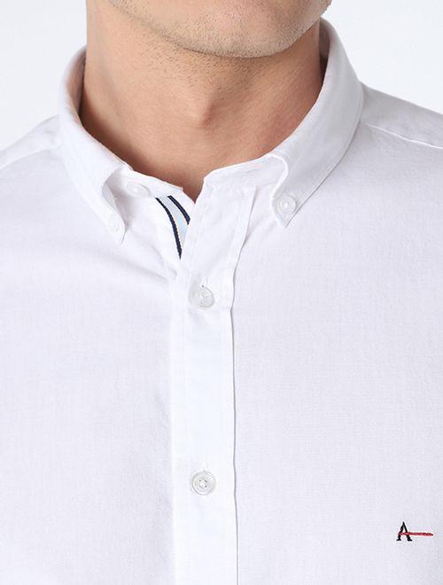 Camisa Slim Button Down Branco