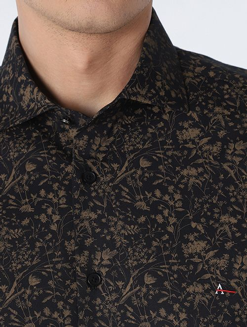 Camisa Night Slim Flor