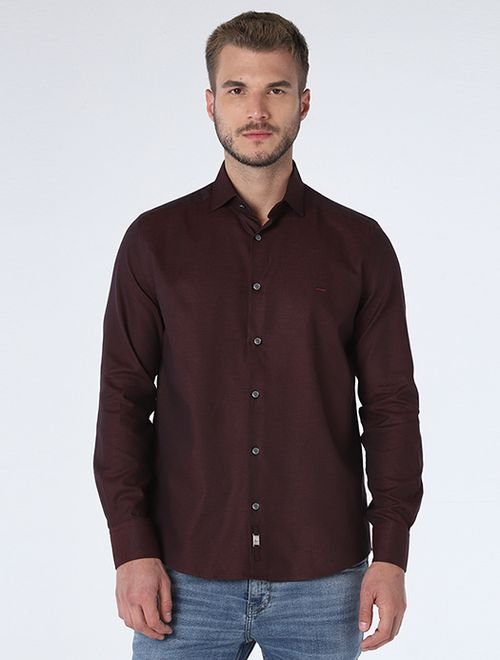 Camisa Night x Maquineta Vinho