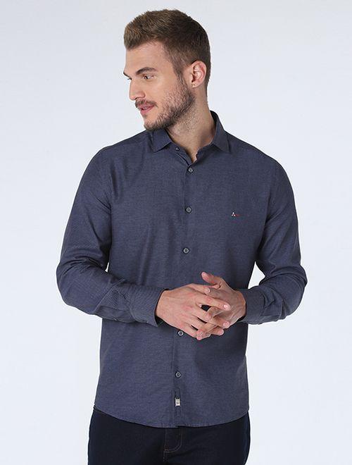 Camisa Night x Maquineta Azul