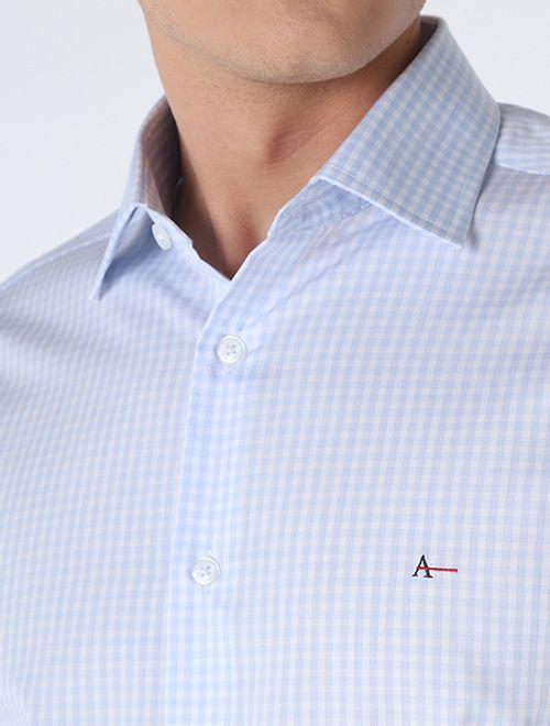 Camisa Slim Xadrez Platinum