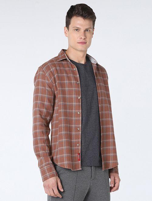 Camisa Slim Xadrez Maxi