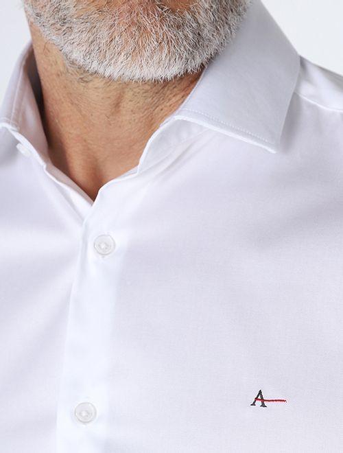 Camisa Social Super Slim 80/2 Branco
