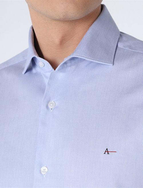 Camisa Social Super Slim Classica Azul Claro