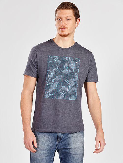 Camiseta Circuitos Night Marinho