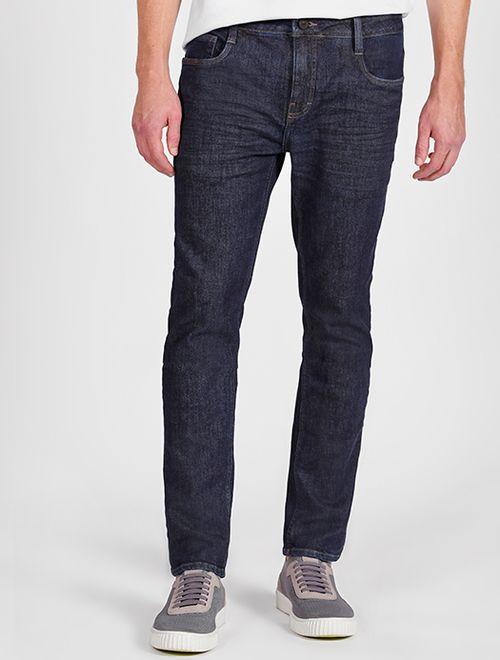 Calça Jeans Super Slim Bigode Amassado Dirt Azul